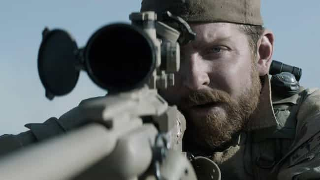 Chris Kyle is listed (or ranked) 2 on the list The Most Memorable Portrayals Of Veterans In Film