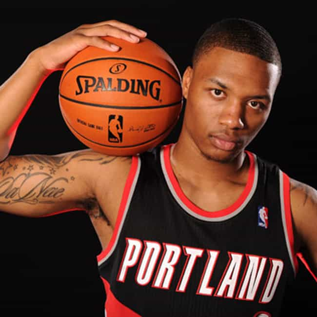 Damian Lillard is listed (or ranked) 2 on the list The Best Athletes Who Wore #0