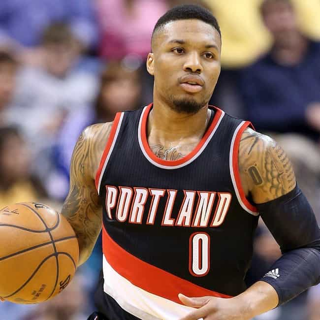 Damian Lillard is listed (or ranked) 1 on the list The Best Athletes Who Wore #0