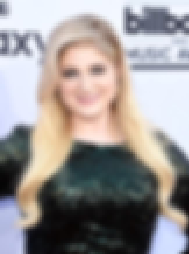 Meghan Trainor is listed (or ranked) 4 on the list Celebrity Women Who Are Way Younger Than You Think
