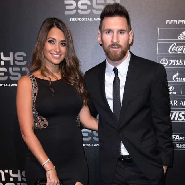 Antonella Roccuzzo is listed (or ranked) 2 on the list Lionel Messi Loves and Hookups