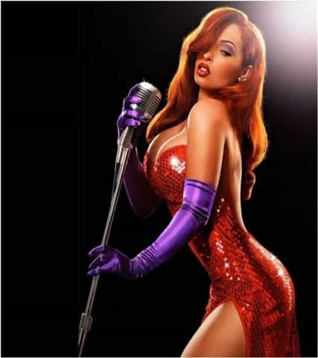 Courtney Black is listed (or ranked) 1 on the list Celebrity Jessica Rabbit Look Alikes