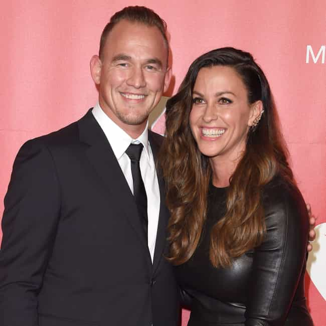 """Mario """"Souleye""""... is listed (or ranked) 1 on the list Alanis Morissette Loves and Hookups"""