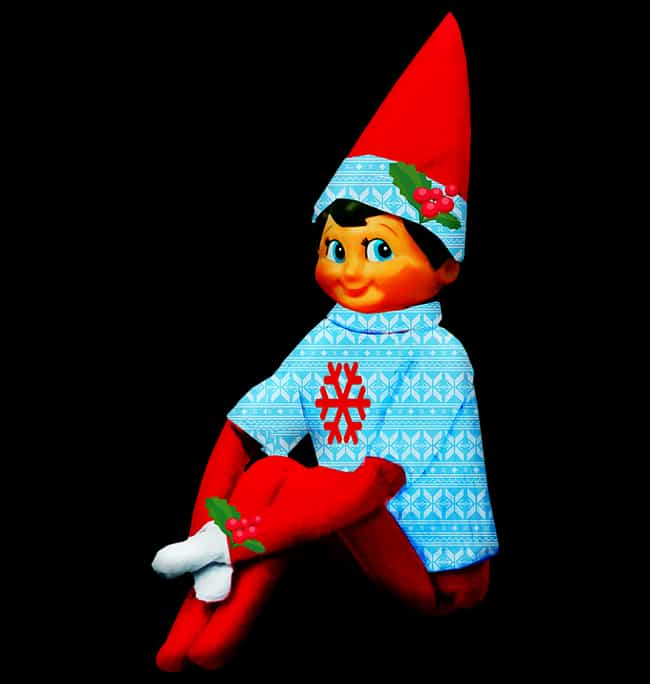The Elf on the Shelf is listed (or ranked) 2 on the list Terrifying Traditional Christmas Legends