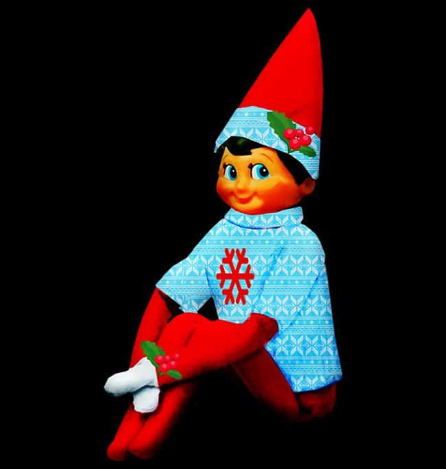 Christmas Elf.Terrifying Traditional Christmas Legends