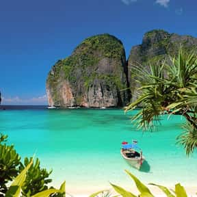 Maya Bay is listed (or ranked) 9 on the list The Best Beaches in Thailand