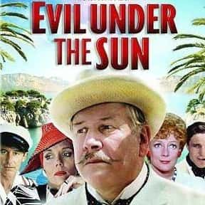 Evil under the Sun is listed (or ranked) 3 on the list The Best Movies Based on Agatha Christie Stories