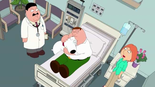New Kidney in Town is listed (or ranked) 4 on the list The Most Emotional Family Guy Episodes That Made You Cry