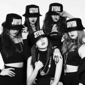 4Minute is listed (or ranked) 7 on the list Universal Music Group - Bands/Musicians on This Label