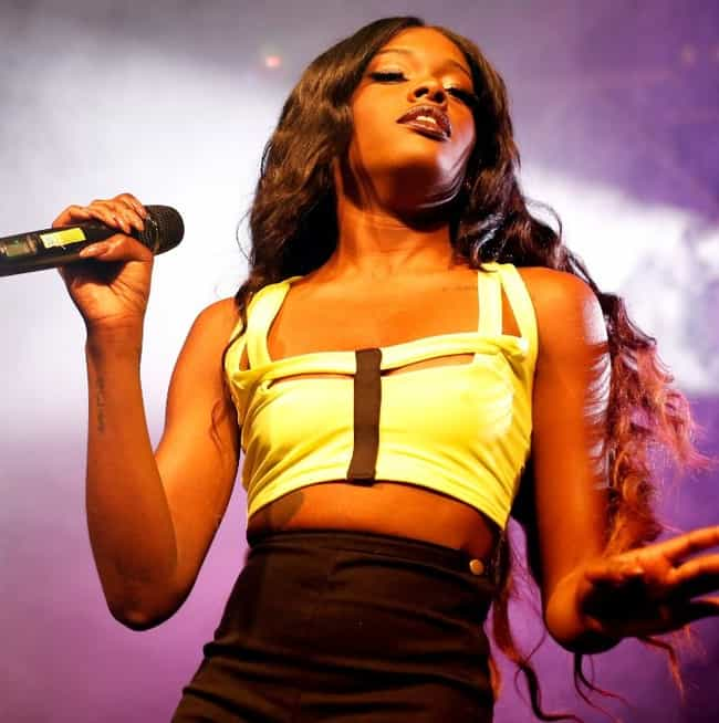 Azealia Banks is listed (or ranked) 50 on the list Celebrities Arrested in 2015