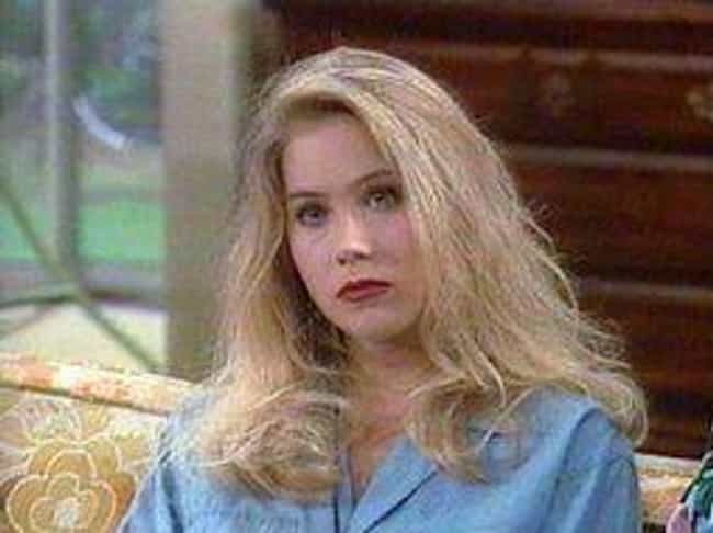 Kelly Bundy is listed (or ranked) 1 on the list 15 Sitcom Characters Who Somehow Got Dumber Over Time