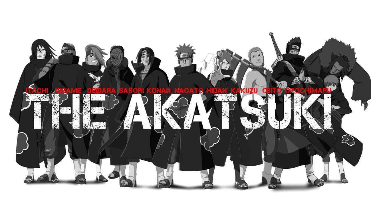 Akatsuki is listed (or ranked) 1 on the list List of All Naruto Villains