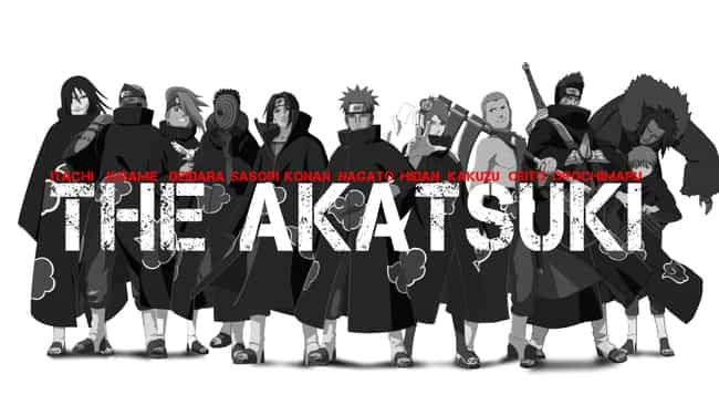Akatsuki Is Listed Or Ranked 1 On The List Of All Naruto Villains