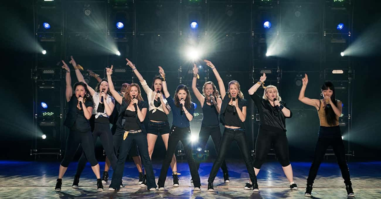 Pitch Perfect - 2012 is listed (or ranked) 1 on the list Your Favorite Movie Casts, Reunited