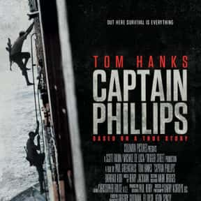 Captain Phillips is listed (or ranked) 14 on the list The Best Tom Hanks Movies