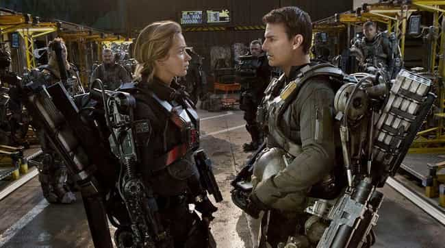 Edge of Tomorrow is listed (or ranked) 8 on the list Super Popular Movies That Were Unfaithful Adaptations