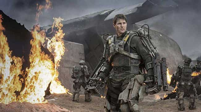 Edge of Tomorrow is listed (or ranked) 3 on the list 14 Movies Only A True Action Fan Would Pick For Movie Night
