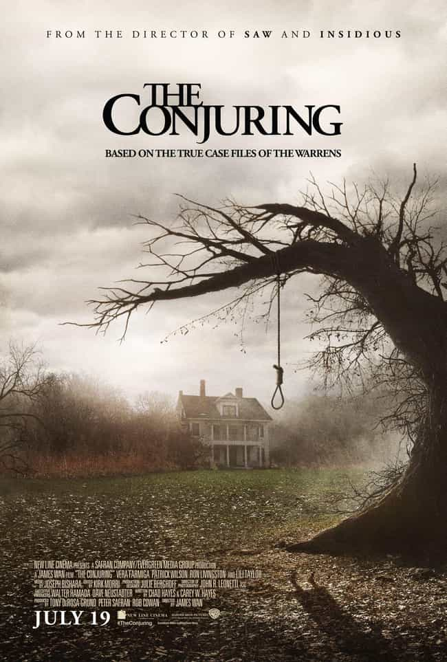 The Conjuring is listed (or ranked) 1 on the list The Semi-Spookiest Movies About Ghosts On Netflix Right Now