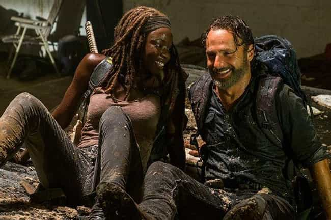 Rick Grimes is listed (or ranked) 5 on the list 16 Unexpected TV Couples No One Predicted