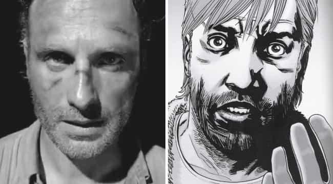 Rick Grimes Comic Beard
