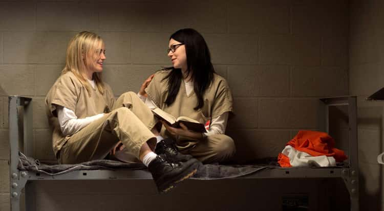 Piper and Alex from Orange Is the New Black