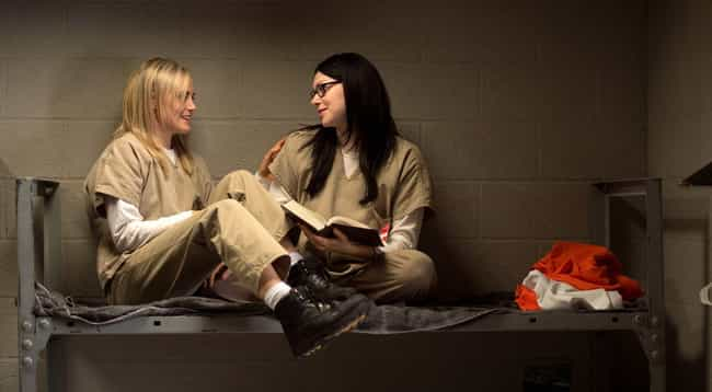 Orange Is the New Black is listed (or ranked) 2 on the list Celebrated Fictional Relationships That Are Actually F'ed Up
