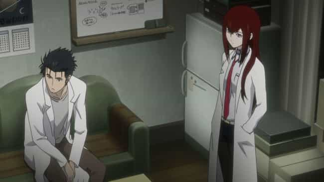 Steins;Gate is listed (or ranked) 3 on the list The 13 Best Anime Like ERASED