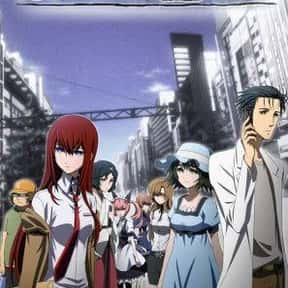 Steins;Gate is listed (or ranked) 7 on the list The Best Anime With Adult Protagonists