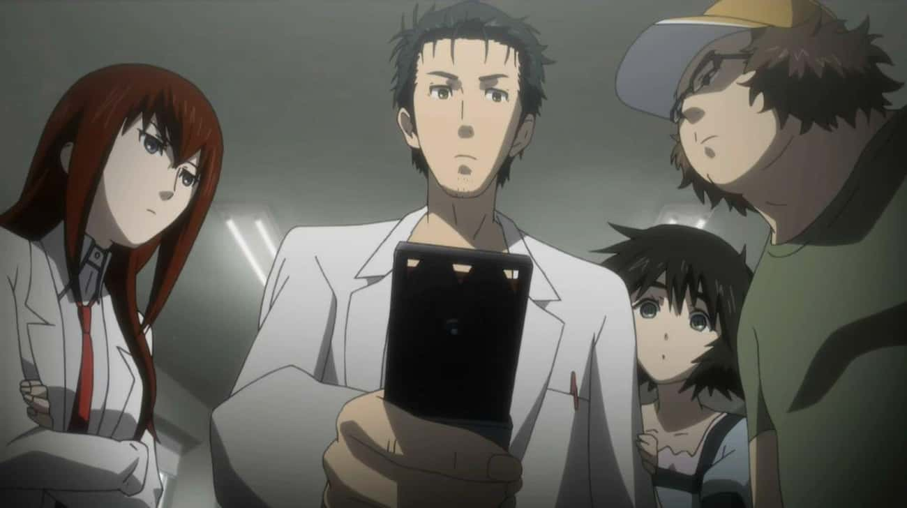 Steins;Gate is listed (or ranked) 3 on the list 16 Great Anime You Can't Watch on Crunchyroll