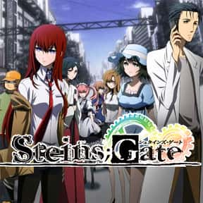 Steins;Gate is listed (or ranked) 19 on the list The Best Anime Series of All Time
