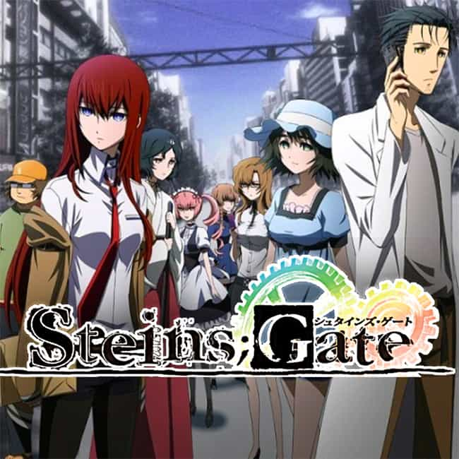 Steins;Gate is listed (or ranked) 4 on the list The 15 Best Anime About College Life