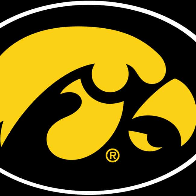 Iowa Hawkeyes football ... is listed (or ranked) 1 on the list The Best Big Ten Football Teams