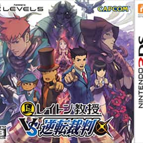 Professor Layton vs. Phoenix W is listed (or ranked) 11 on the list The Best Ace Attorney Games
