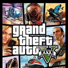 Grand Theft Auto V is listed (or ranked) 1 on the list The Most Popular PS4 Games Right Now