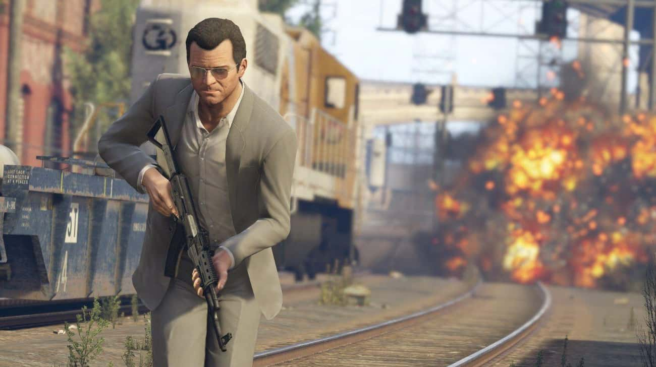 Grand Theft Auto V is listed (or ranked) 3 on the list The 15 Most Difficult Video Games To Beat, Ranked By Gamers