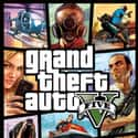 Grand Theft Auto V is listed (or ranked) 3 on the list The Most Popular Video Games Right Now