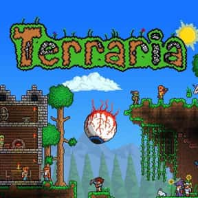 Terraria is listed (or ranked) 2 on the list The Most Popular Sandbox Video Games Right Now