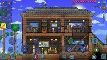 Terraria is listed (or ranked) 1 on the list 15 Games You Need To Play If You Love 'Minecraft'