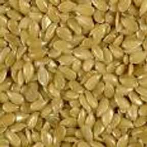 Flax seed is listed (or ranked) 18 on the list The Best Things to Put in a Protein Shake
