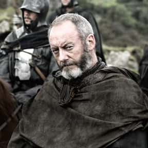 Davos Seaworth is listed (or ranked) 11 on the list Every 'Game of Thrones' Character's First Words