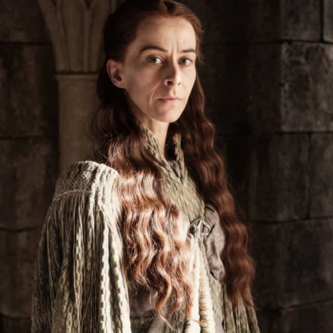 Lysa Arryn is listed (or ranked) 2 on the list All Members of House Tully