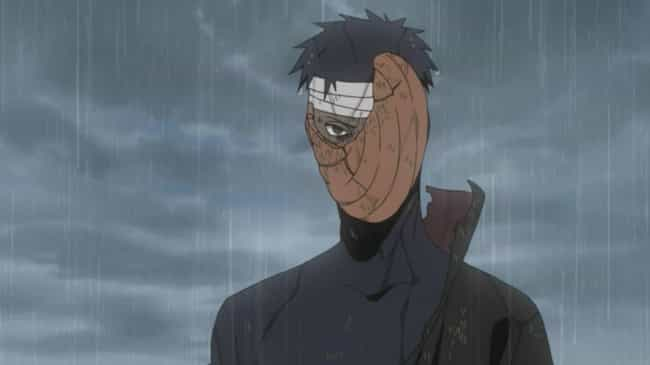 Obito Uchiha is listed (or ranked) 7 on the list How Different Characters In Naruto Might Actually Represent Mental Health Issues