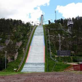 Ski Jumping is listed (or ranked) 3 on the list Your Favorite Winter Olympic Events