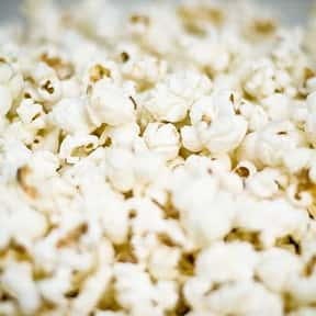 Popcorn is listed (or ranked) 1 on the list The Best Movie Theater Snacks