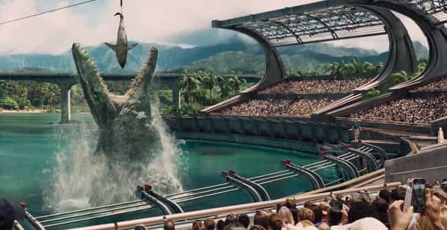 Mosasaurus is listed (or ranked) 3 on the list List of Dinosaurs That Appear In Jurassic World