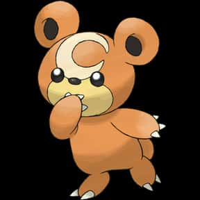 Teddiursa is listed (or ranked) 24 on the list The Best Normal Pokemon of All Time
