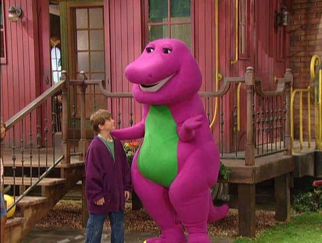 Barney is listed (or ranked) 2 on the list Most Beloved Children's Show Mascots