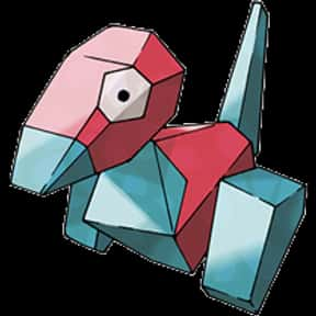Porygon is listed (or ranked) 14 on the list The Best Normal Pokemon of All Time