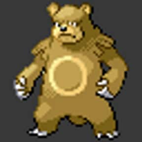 Ursaring is listed (or ranked) 8 on the list The Best Normal Pokemon of All Time