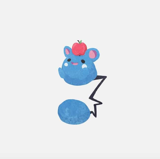 Azurill is listed (or ranked) 3 on the list 35 Pokemon Reimagined As Adorable Minimalist Art